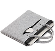 For Apple MacBook Air/Pro 13.3 Inch or Less Handbag Sleeves Laptop Bag Felt Simple Leisure Style Notebook Bag Solid Color