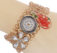 Bracelet Watch Quartz Alloy Band Gold