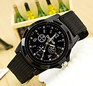 Linen Woven Rope Swiss Quartz Movement Watch