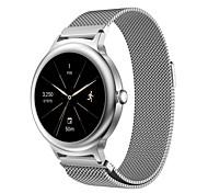 Bracciale cinghia banda milanese acciaio orologio in acciaio per LG stile orologio