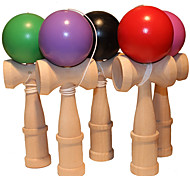 Kendama Toys  Stress  Exercise Hand Skills Relievers Balls Leisure Hobby  Wooden Toy  Novelty Sphere Wood Rainbow For Boys For Girls