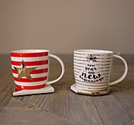 Оригинальные Стаканы, 280 ml BPA Free Китайский фарфор Телесный Молоко Кофейные чашки Чашки для путешествий