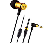 Original JBMMJ-MJ007 Hight Quality Metal In Ear Headphones In-ear Earphone HD HiFi Headset Good Bass For IPhone XIAOMI Samsung