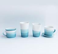 Оригинальные Стаканы, 200 ml BPA Free Керамика Телесный Молоко Кофейные чашки Чашки для путешествий