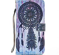 For Card Holder with Stand Flip Case Full Body Case Dream Catcher Hard PU Leather for LG LG K8 LG K7 LG K4 LG G5 LG V20