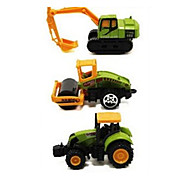 Construction Vehicle Vehicle Playsets 1:64 Metal Plastic Rainbow