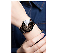 Men's Women's Sport Watch Quartz / Plastic Band Vintage Black Black