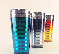 Colored Novelty Drinkware, 400 ml Decoration Plastic Water Tumbler