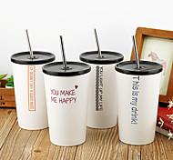 Minimalism Drinkware, 400 ml Decoration Ceramic Coffee Milk Tumbler