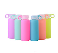 Colorful Jelly Drinkware, 300 ml Leak-proof BPA Free Plastic Juice Water Bottle