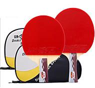 Tabla raquetas de tenis Ping Pang Goma Mango Corto Las espinillas Interior Deportes de ocio