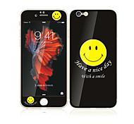 для iphone яблоко 6с плюс / 6 плюс 5,5 из закаленного стекла с защитной мягкой край полный охват экрана передний экран и задний протектор