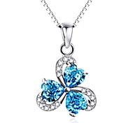 Pendants Crystal Crystal Basic Flower Style Blue Jewelry Daily Casual 1pc