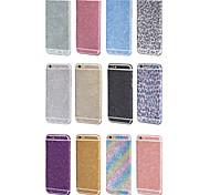 роскошный Bling полный корпус протектор фильм наклейки для iPhone 6 / iPhone 6s (ассорти цветов)