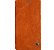 For Nillkin One Plus 3 One Plus 3T Card Holder Auto Sleep/Wake Flip Case Full Body Case Solid Color Hard PU Leather for OnePlus