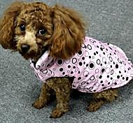 Dog Coat Purple Pink Dog Clothes Spring/Fall Princess Cute