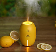 Creative Home Bedroom Lemon Humidifier Night Lights (USB Line Power Supply)