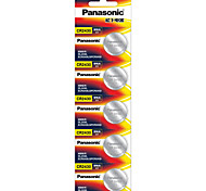 panasonic CR2430-Knopfzelle Lithium-Batterie 3V 5er Pack