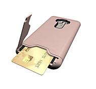 para el asus zenfone titular de la tarjeta 3 ze552kl tapa (5.5) caso a prueba de golpes con el soporte trasero tapa