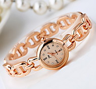 Women's Fashion Watch / Quartz Alloy Band Cool Casual Rose Gold