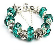 Chain Bracelet Crystal Crystal Natural Jewelry Light Blue Jewelry 1pc