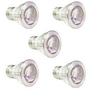 5W E14 GU10 E27 Lampes Horticoles LED 10 SMD 5730 165-190 lm Rouge Bleu V 5 pièces