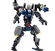Игрушки Для получения подарка Конструкторы Динозавр Воин Робот Пластик 5-7 лет 8-13 лет от 14 лет черный увядает Игрушки