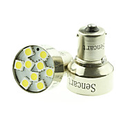 1156 Ba15s 9 LED 5050SMD Warm 6000K Car Bulb Light Brake/Turn/Tail /Reverse DC12-16V