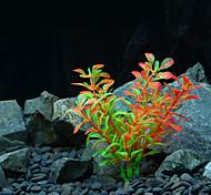 Оформление аквариума Водное растение Искусственная Пластик Случайный цвет