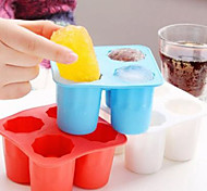 Ice Shots Cube Tray Silicone Mold Tool Cup Shape Bar Party Drink Coke Random Color