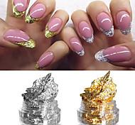 2box Autocollant d'art de clou Guide Conseils français Maquillage cosmétique Nail Art Design