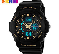 Men's Women's Unisex Sport Watch Dress Watch Skeleton Watch Fashion Watch Wrist watch Digital Watch Quartz Digital Silicone BandCharm