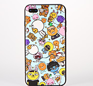 Für Muster Hülle Rückseitenabdeckung Hülle Zeichentrick Weich Silikon für AppleiPhone 7 plus iPhone 7 iPhone 6s Plus iPhone 6 Plus iPhone