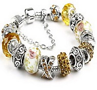 Chain Bracelet Crystal Natural Fashion Jewelry White Jewelry 1pc