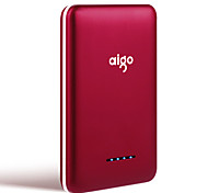 aigo® 10000mAh power bank 2.1A 1A external battery Multi-Output with Cable