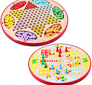 Board Game Games & Puzzles Circular Wood