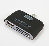 Type C Reader USB SD HC Micro SD HC