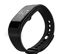 wasserdicht v66 Überwachung der Herzfrequenz Armband Bluetooth Touch-Screen-Schritt Bewegungs Meter Smart Armband