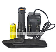 LT  5 Mode 2000 Lumens LED Flashlights 18650/26650 Waterproof