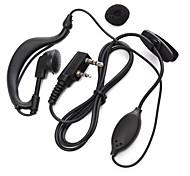 365 walkie talkie écouteur écouteur microphone micro écouteur talkie universel pour baofeng 365 wanhua tyt hyt