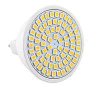 YWXLight® MR16 72SMD 7W 2835 500-700Lm Warm White Cool White Natural White LED Spotlight (AC 110V/AC 220V)