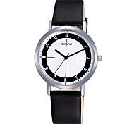 SKONE Time And Space Korean Fashion SimpleDial Ultra-Simple Paragraph Quartz Belt Watch