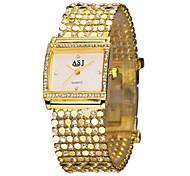 ASJ Women's Dress Watch Fashion Watch Bracelet Watch Simulated Diamond Watch Japanese Quartz Imitation Diamond Rhinestone Alloy Band