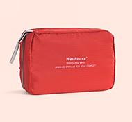 Toiletry Bag Foldable Portable for Travel Storage ToiletriesGreen Blue Blushing Pink Dark Gray Light Green