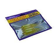 2 pçs Isco Suave / Amostras moles Cores Aleatórias 12 g Onça mm polegada,Plástico Pesca Geral