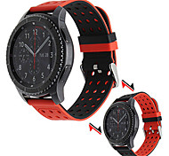 For Samsung Gear S3 Classic Silicone Rubber Watch Band Double Side Wearing Strap for Samsung Gear S3 Frontier Wrist Belt Bracelet 22mm