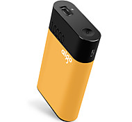 aigo® 10000mAh power bank 2A 1.7A 1.5A external battery QC 2.0 with Cable Automatic Adjusted Current