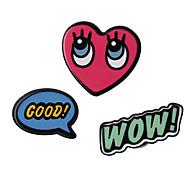 Набор украшений Бижутерия Уникальный дизайн С логотипом обожаемый Multi-Wear способы Симпатичные Стиль Сделай-сам АкрилГеометрической