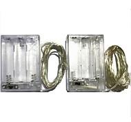 3W W Гирлянды 300 lm Батарея 3 м 30 светодиоды