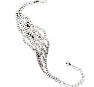 The Latest European And American Fashion Ladies Diamond Bracelet